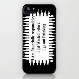 Pre Drinking Games iPhone Case