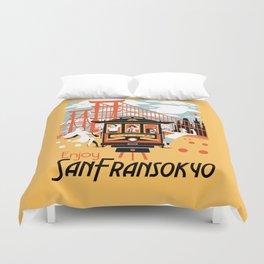 Enjoy San Fransokyo Duvet Cover