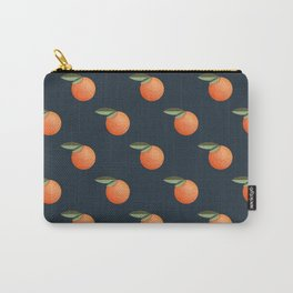 Pattern with mandarin in retro style Carry-All Pouch