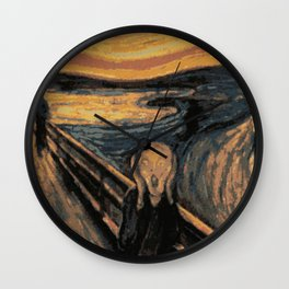 The Art Of Seeing Wall Clock