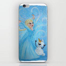 The Cold Never Bothered Me Anyway iPhone Skin
