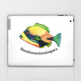 H is for Humuhumunukunukuapua'a Laptop & iPad Skin