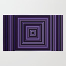 Squares and squares Rug