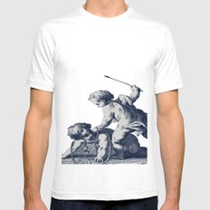 Horseplay SMALL Mens Fitted Tee White