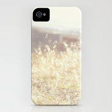 Vintage Wildflowers Slim Case iPhone (4, 4s)