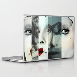 face mash up Laptop & iPad Skin
