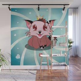 Anime Kitty - Hime Wall Mural