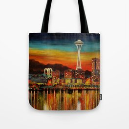 Seattle from Alki Tote Bag