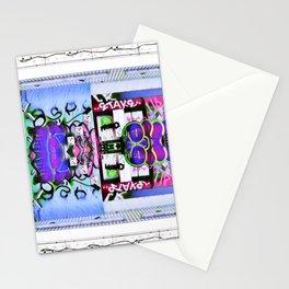 Pink Graffiti Stationery Cards