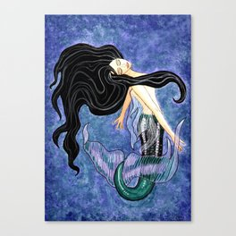 Mermaid Art - Mermaiden Canvas Print