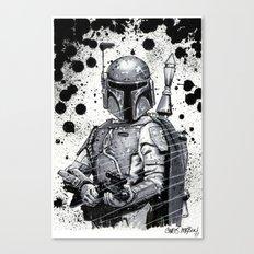 Boba Fett: Bounty Hunter Canvas Print