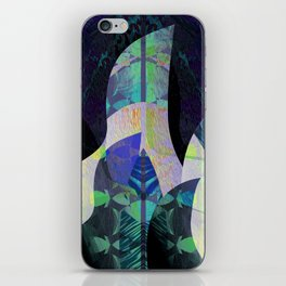 Enchanted Forest Abstract No. 3 iPhone Skin