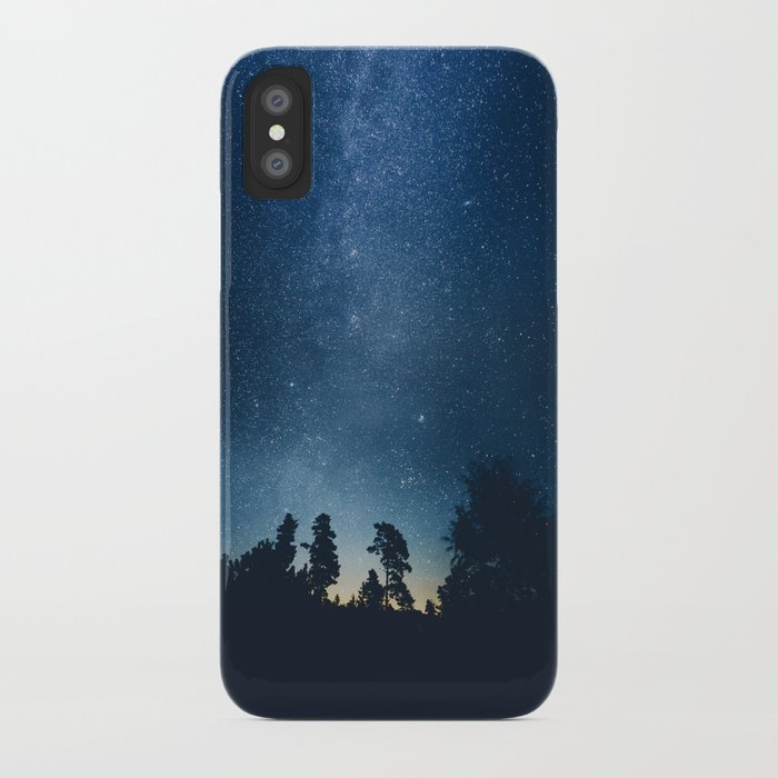 Follow the stars iPhone Case