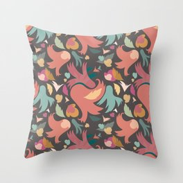 The powerful spring is coming Throw Pillow
