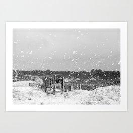 meerschaum storm, Britany Art Print