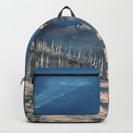 Ice Fields - winter day Backpack