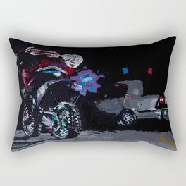 Night Rider Rectangular Pillow