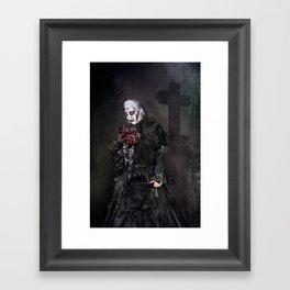 Black Widow - Halloween Framed Art Print