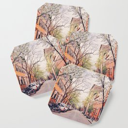 New York City - Springtime in the West Village Coaster