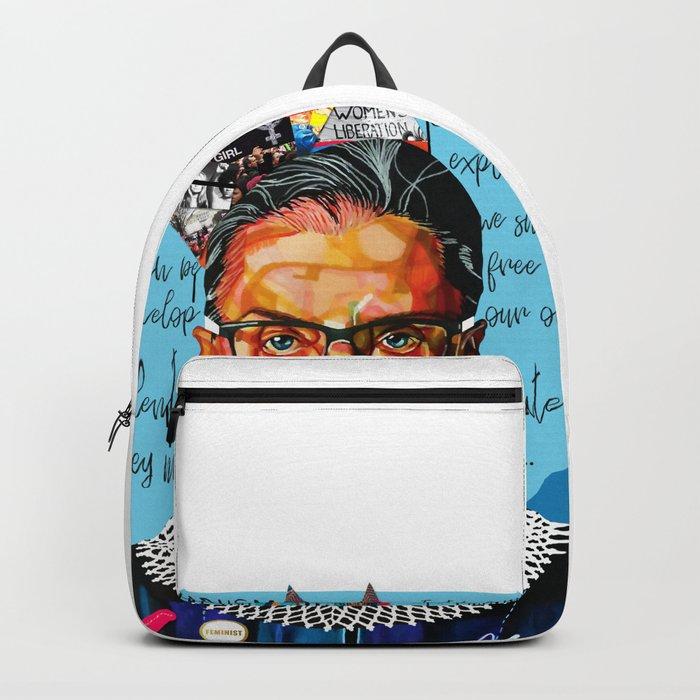 Ruth Ginsburg Backpack