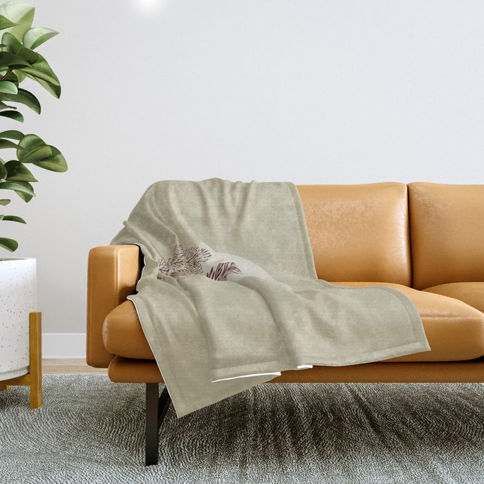 Terra Di Siena Throw Blanket