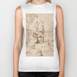 Hieronymus Bosch - The Tree-Man Biker Tank