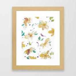 blazz studios: Spring Flowers Framed Art Print