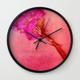 PinkForest Wall Clock