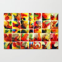 quilt Canvas Prints featuring Quilt by Jose Luis