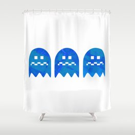 The Very Hungry Pacapillar - Variant Shower Curtain