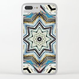 Eight Points of Texture Clear iPhone Case