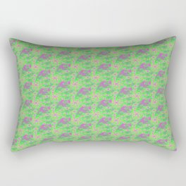 Fractal Pastel Rectangular Pillow