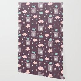 Lovely Star Pattern Wallpaper