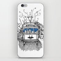 melbourne iPhone & iPod Skins featuring Melbourne by Raul Garderes