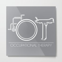 Occupational Therapy (OT) Metal Print