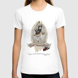 Super Beard Boy - Framed Justice! T-shirt