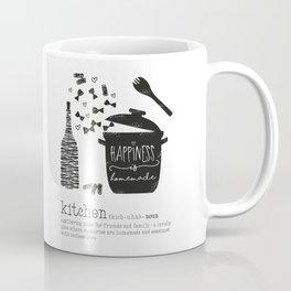 Kitchen-Love (Definition) Cooking Illustration Coffee Mug