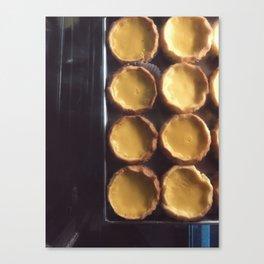 egg tart Canvas Print