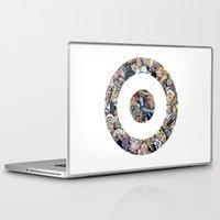 clint barton Laptop & iPad Skins featuring clint barton hawkguy bullseye by captainkittyspa