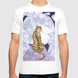 Tiger Moon   Colour Version T-shirt