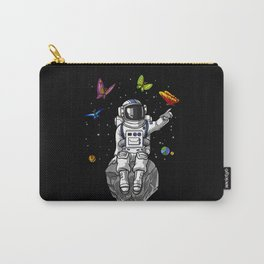 Space Astronaut Hippie Carry-All Pouch