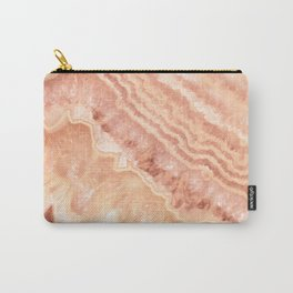 Champagne onyx marble Carry-All Pouch