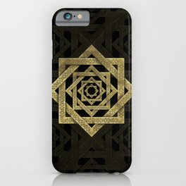 Golden Star of Lakshmi - Ashthalakshmi iPhone Case