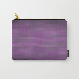 Abstract Watercolor Blend 12 Black, Gray and Purple Graphic Design Carry-All Pouch
