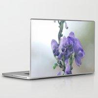 iris Laptop & iPad Skins featuring Iris by Bella Blue Photography