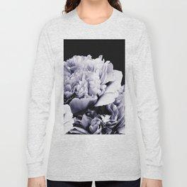 Peony Flower Bouquet Black and White #decor #society6 #buyart Long Sleeve T-shirt