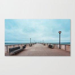 Coney Island Pier Canvas Print