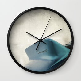 The 911 Tail Wall Clock