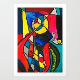 Within the Circle #society6 #decor #buyart Art Print