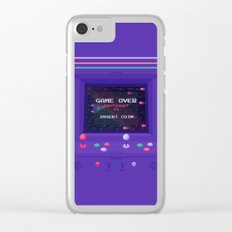 INSERT COIN Clear iPhone Case